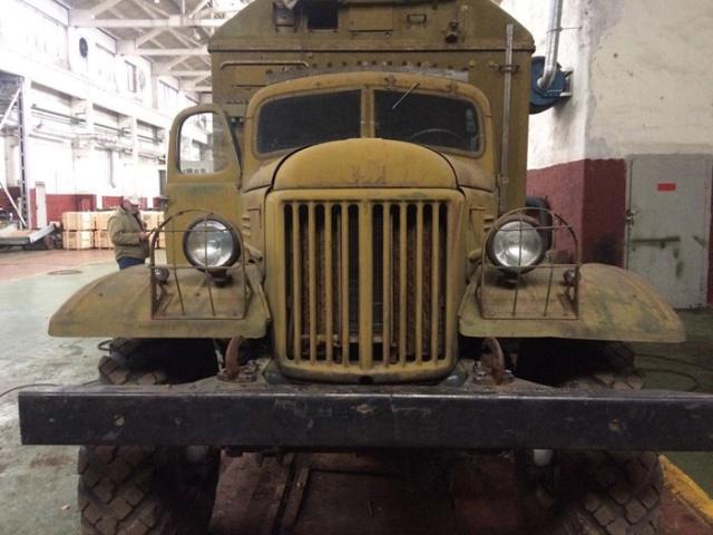 Вторая жизнь грузовика ЗИЛ-157