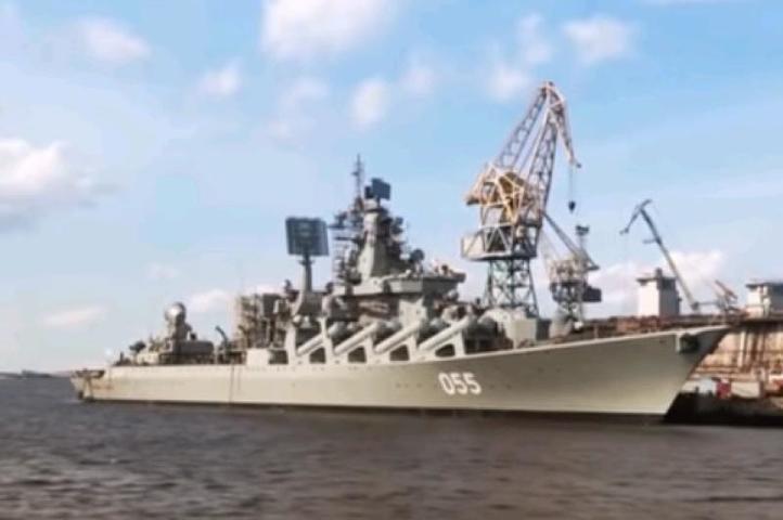 Крейсеры «Маршал Устинов» и …