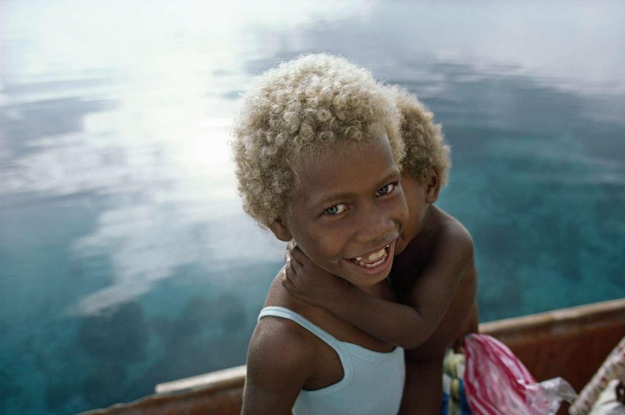Феномен Меланезии: это то место, где живут чернокожие блондины