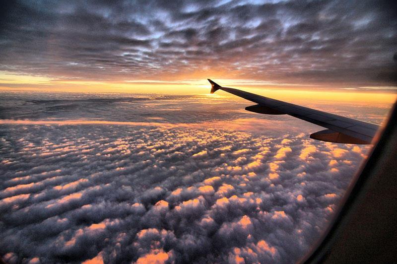 Почему в самолете лучше брать место у окна