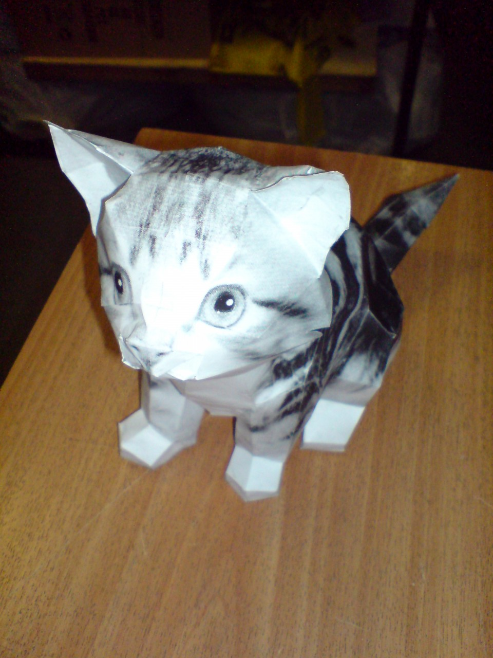 Бумажные кошки своими руками 24