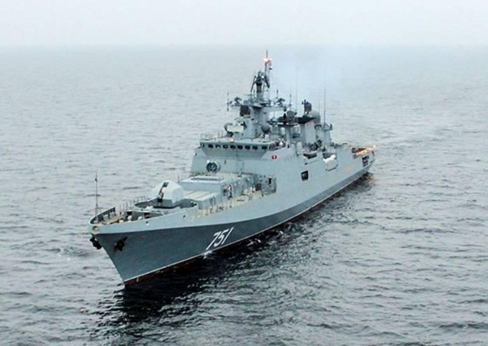 «Адмирал Эссен» начал переход с Балтийского флота на Черноморский