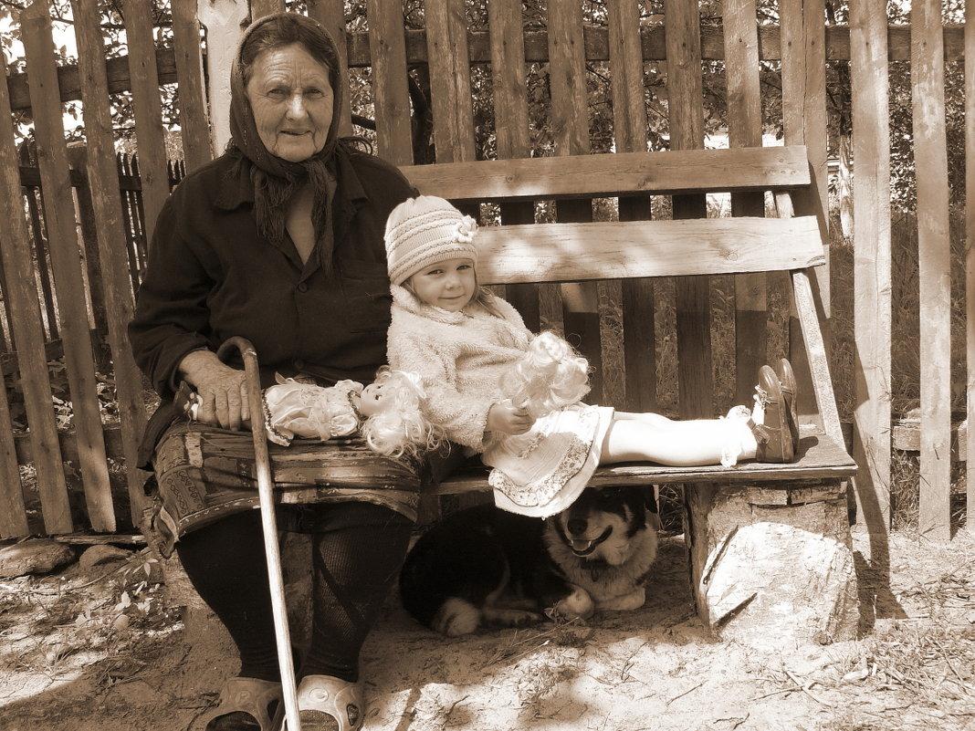 Наши дедушки и бабушки не ум…