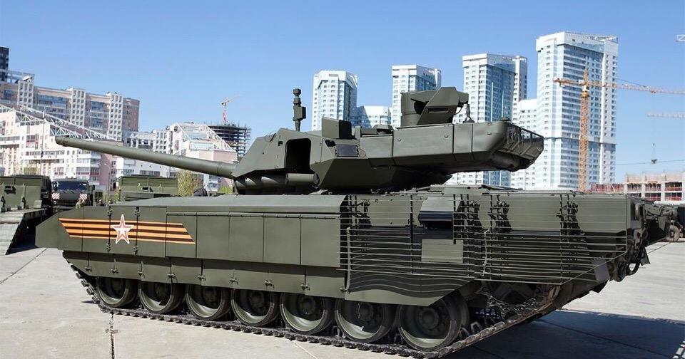 Танк Т-14 «Армата» поставлен на конвейер!