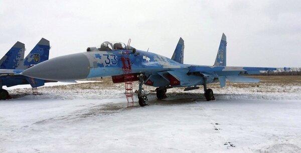 ВСУ потеряли очередной Су-27. Пилот погиб