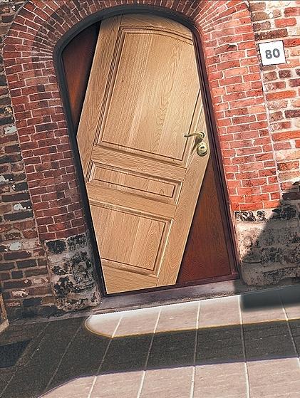 стальная дверь дизайнерская