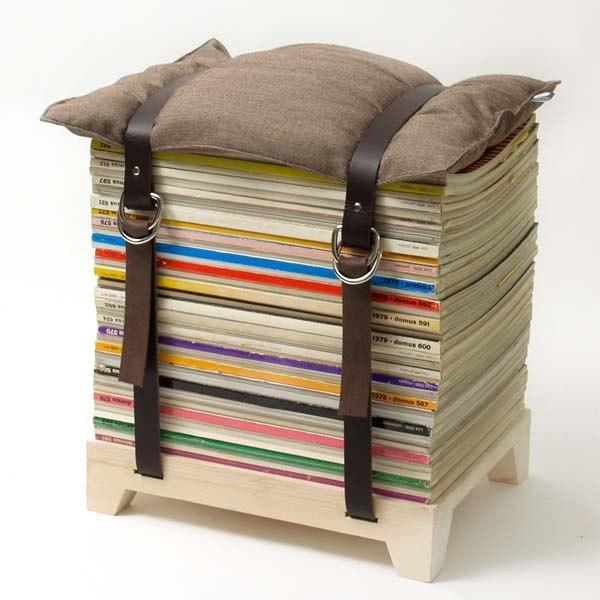 Стол из книжек своими руками