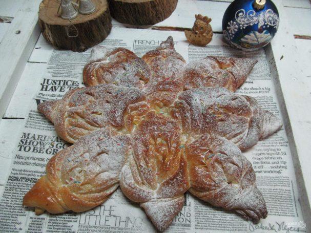 Пирог «Снежинка»