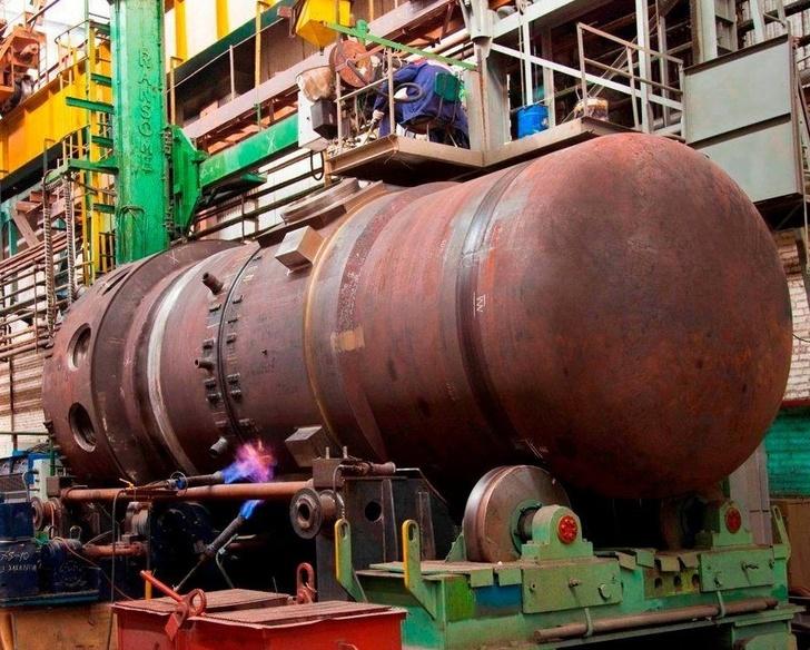 В Атомэнергомаше завершена сварка корпуса первого реактора для ледокола нового поколения Урал