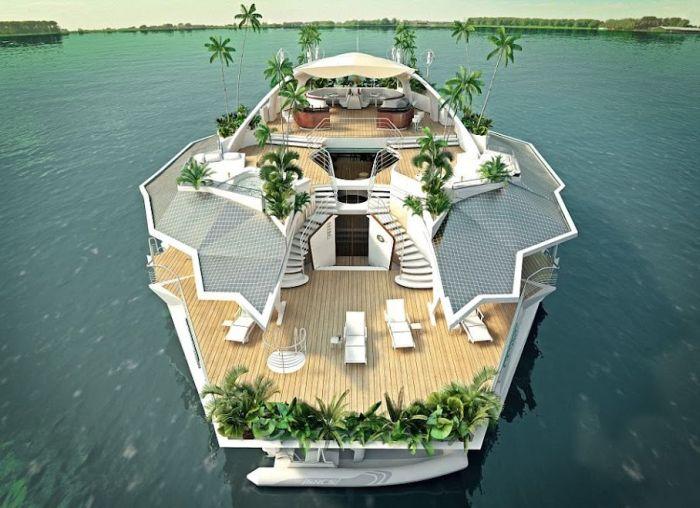 Уникальный дом-остров стоимостью 6,5 млн долларов