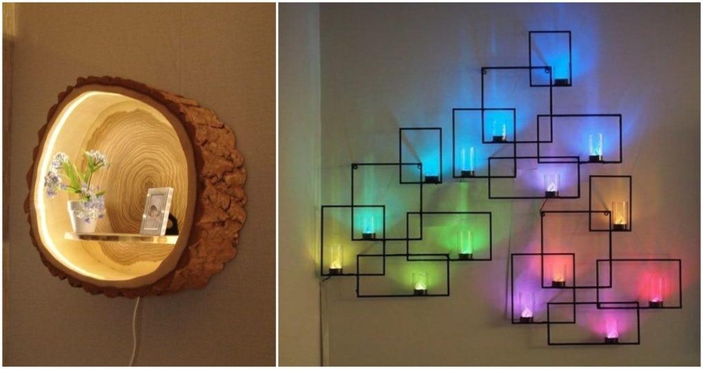 Привлекательные идеи для освещения стен в этом сезоне