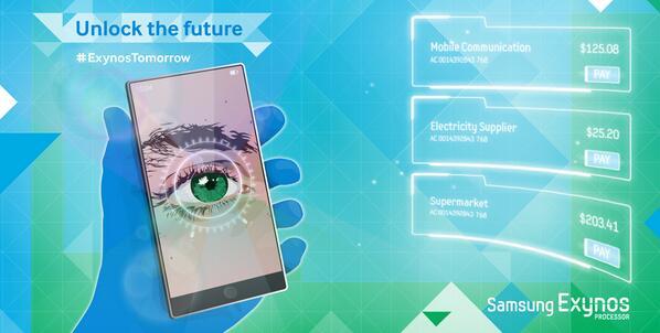 В Samsung Galaxy Note 4 может быть установлен сканер сетчатки