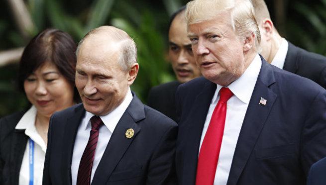 Владимир Путин и Дональд Тра…