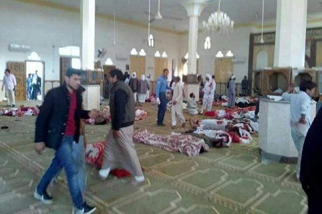 В мечети в Египте произошел взрыв. Главное