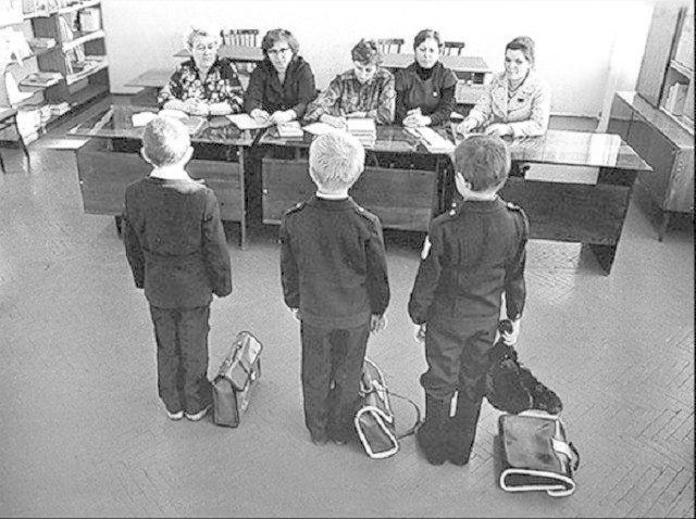 Школьники Советского Союза в фотографиях