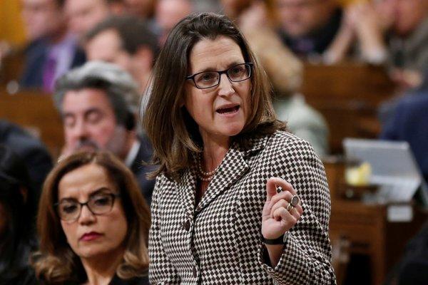 Глава МИД Канады пыталась ск…