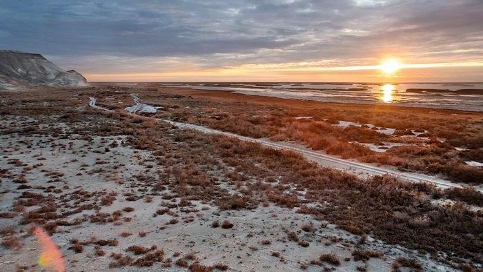 Кто оставил человечеству послания на дне Аральского моря?