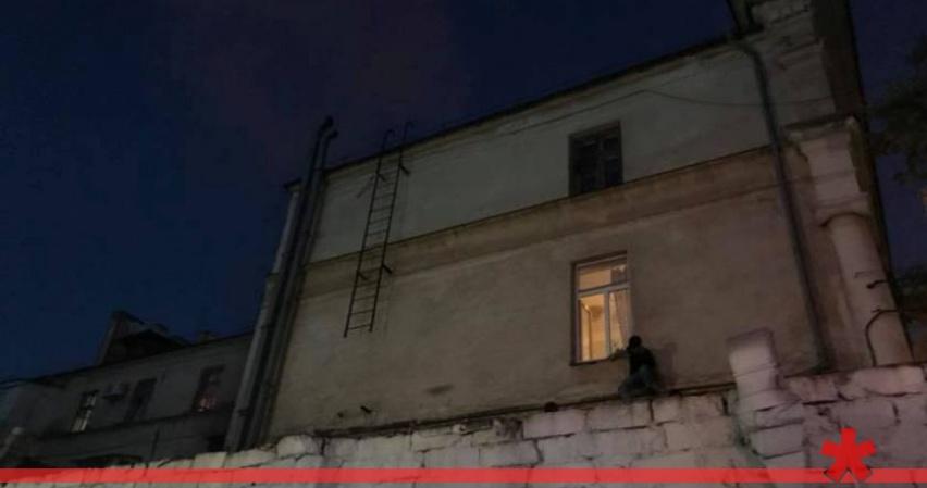 В центре Севастополя горит очередное кафе