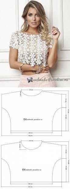 Выкройки блузок на все случаи жизни.