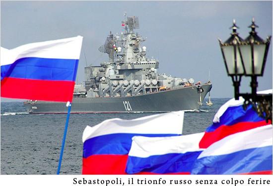Итальянское издание: Контроль США над Крымом — это было целью госпереворота в Киеве