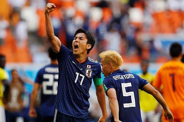 Сборная Японии обыграла Колумбию в матче группового этапа ЧМ-2018