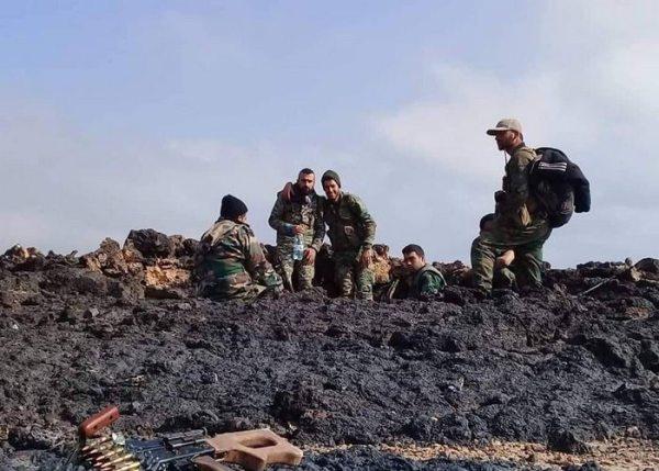 Сирийская армия выбила террористовИГ изюжной части плато Ас-Сафа