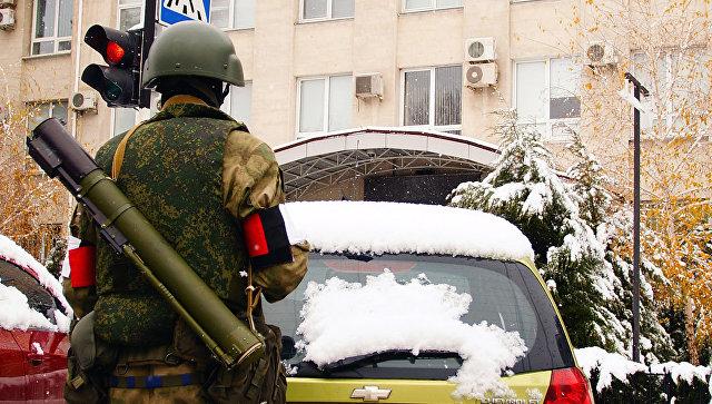 В Луганске ликвидировали украинских диверсантов