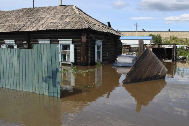 В Чите из зоны подтопления эвакуированы почти три тысячи человек