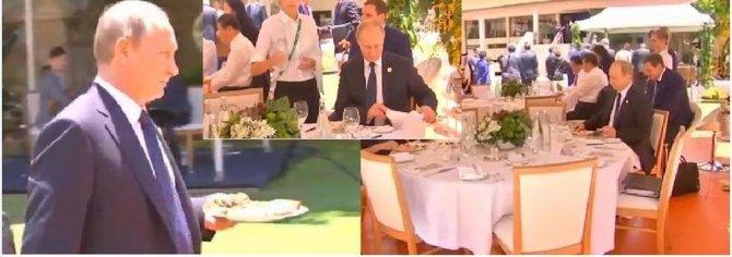 Цена одиночества Президента: Я хорошо помню этот саммит (G20). Он остался один за столом...