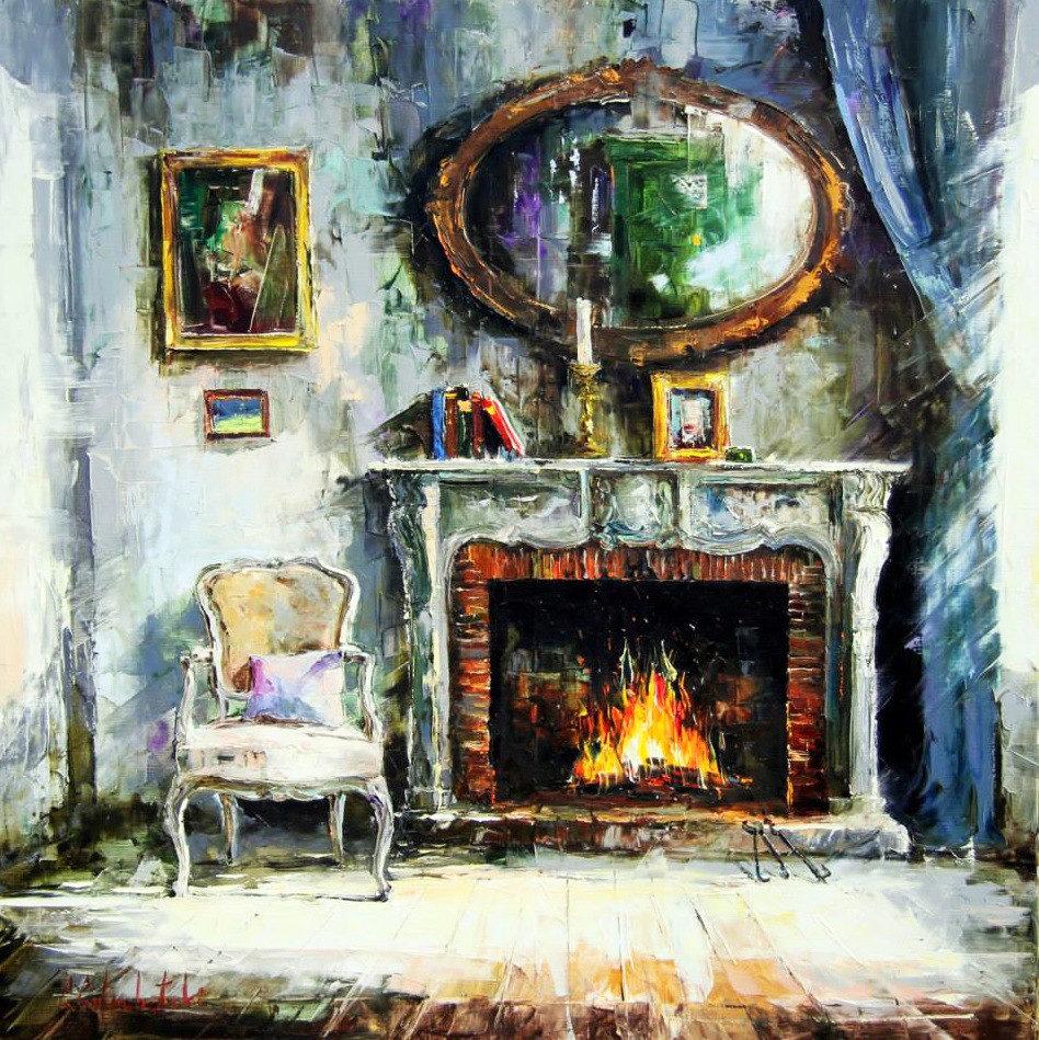 Уютное творчество художника Глеба Голубецкого