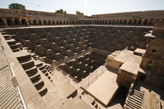 Чанд Баори – перевернутая пирамида
