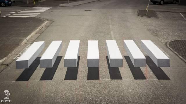 3D-пешеходный переход в Исландии
