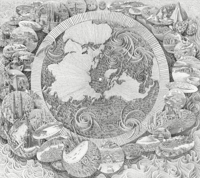 Детальные иллюстрации Benjamin Sack