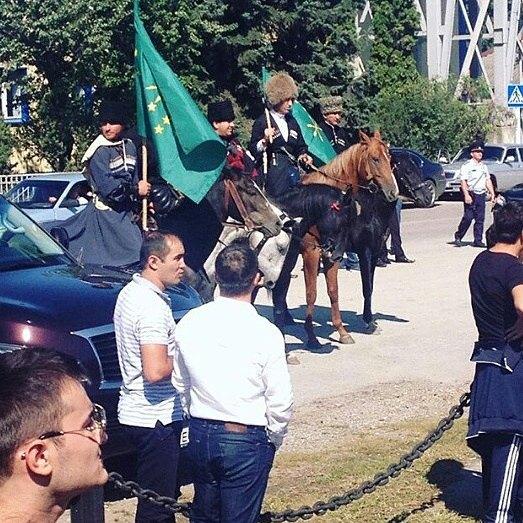 Черкесы турецкой Анталии обр…