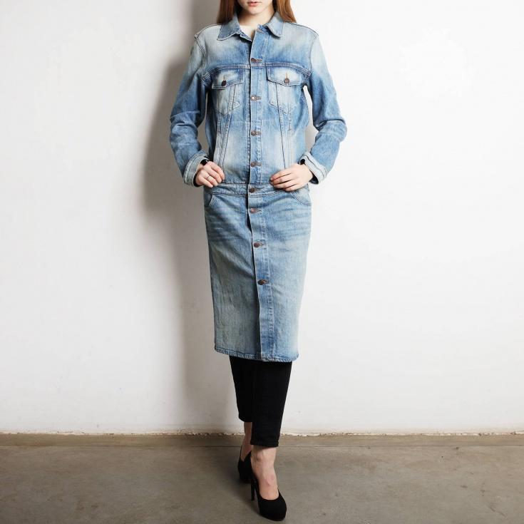 Джинсовое пальто 6397