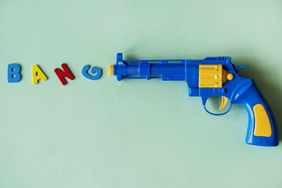 Мужчина угрожал гостям «Детского мира» игрушечным пистолетом