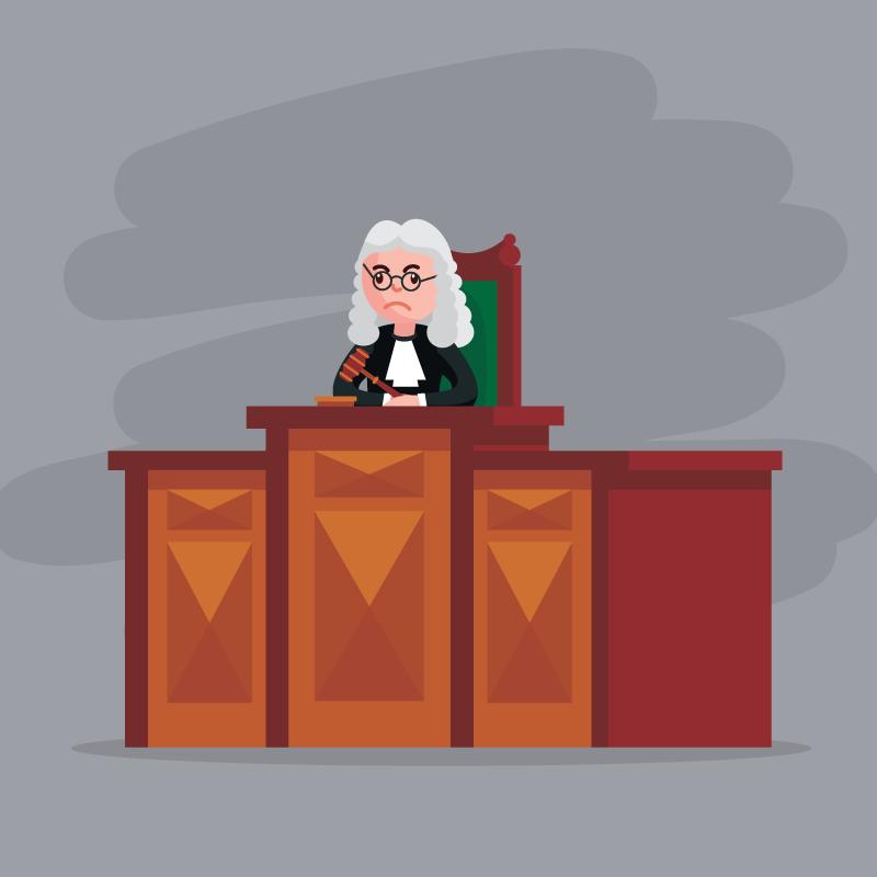 Анекдот про преступника, которого незахотел защищать адвокат