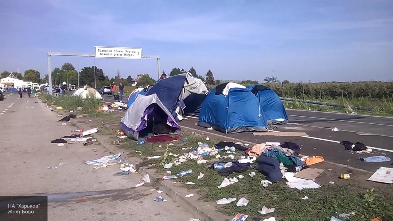 В Венгрии объявили о завершении строительства стены на границе с Сербией