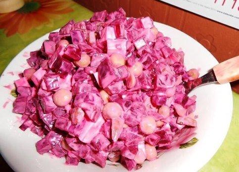 Салат «Виолетта»