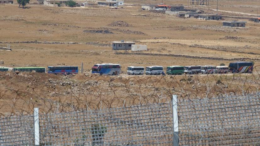 В Сирии из юго-западной зоны…