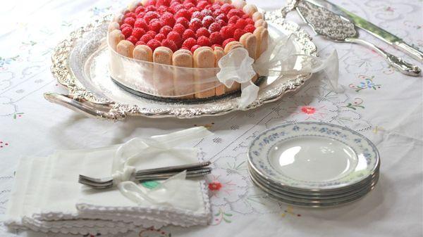 Торт тирамису круглый