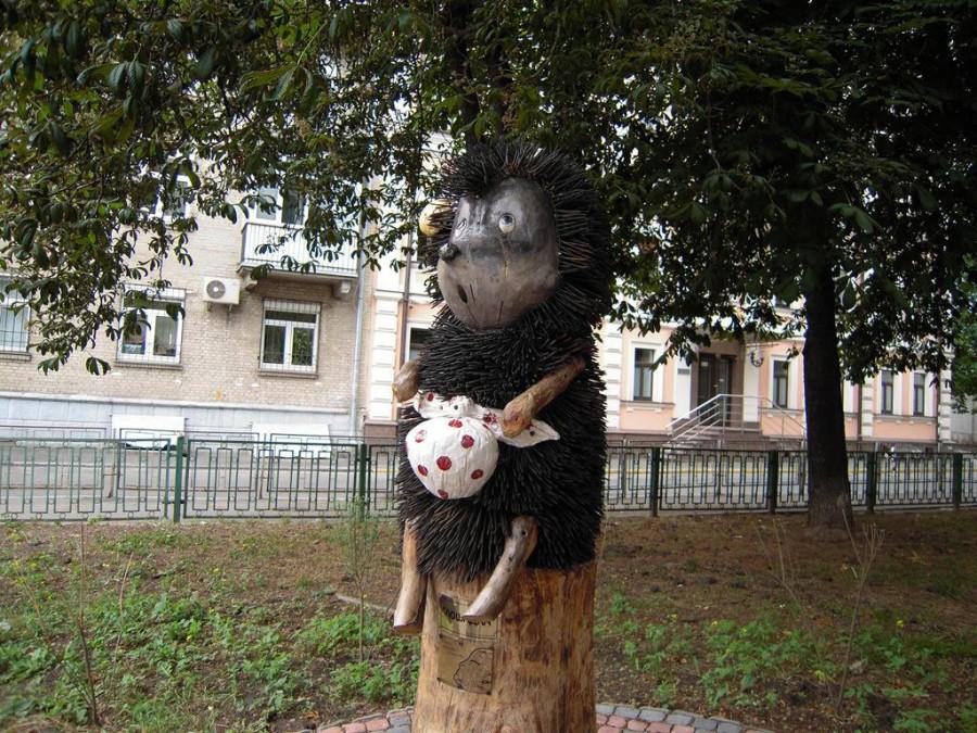 202 памятник Ёжику в тумане - Киев