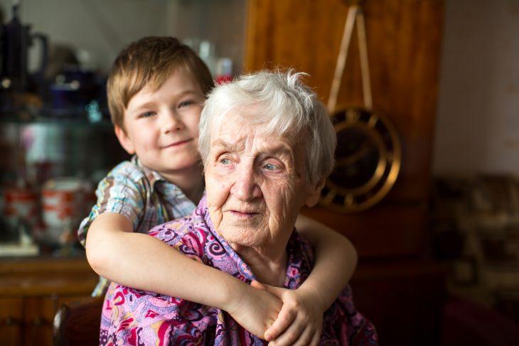 Ванечка и злая бабка
