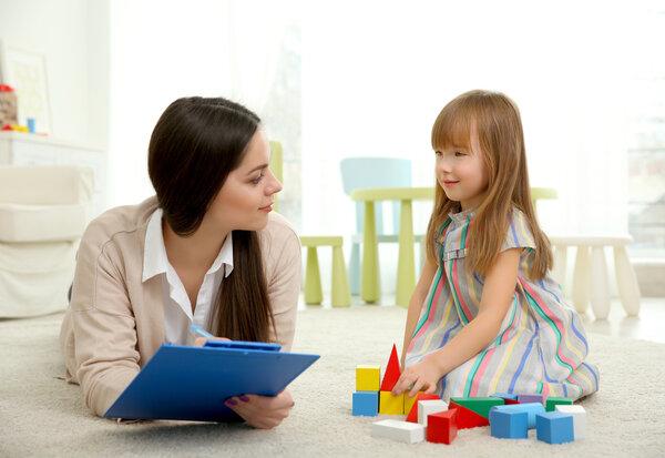 индивидуальные занятия специальных педагогов с особыми детьми