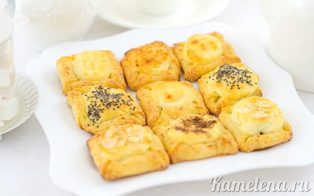 Двойное творожное печенье — 14 шаг