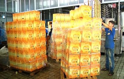 В Латакии в полную силу заработал завод по производству сока