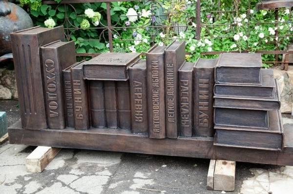 Воронежский скульптор представил арт-объекты для сквера «Ученых»