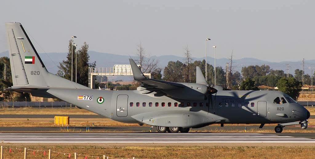 Первый самолет Airbus C295W для ОАЭ