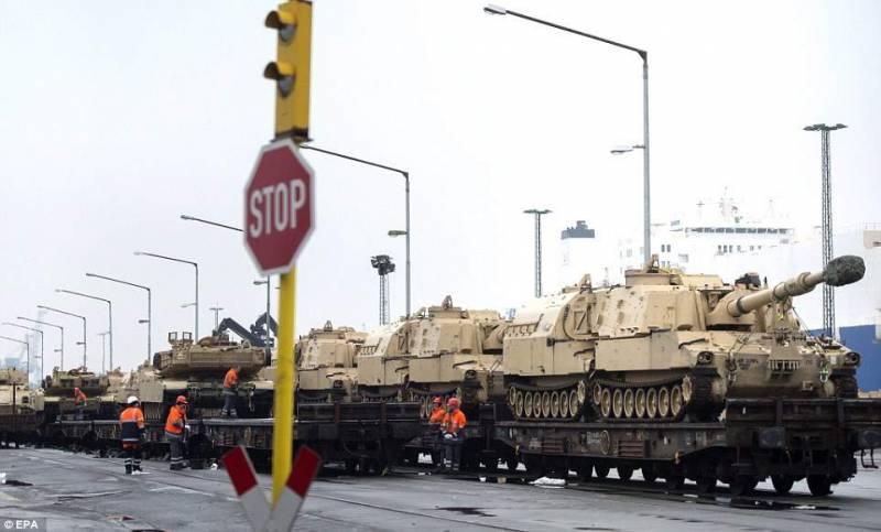 Германия отказывается приветствовать американскую военщину