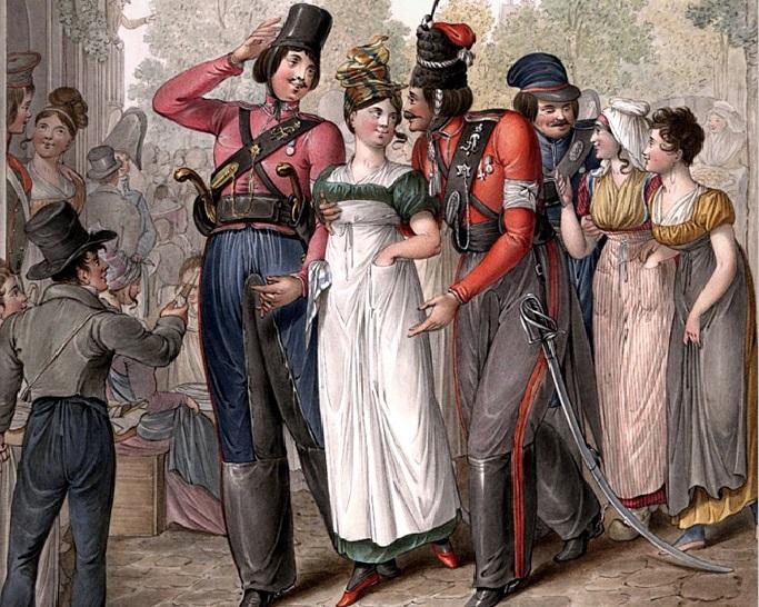 Русская оккупация Парижа 1814 года: чему научились французы